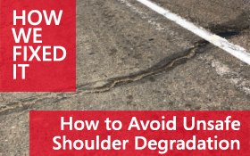 Asphalt Shoulder Degradation