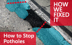 How To Stop Potholes